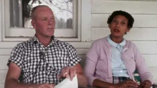Photo of Richard and Mildred Loving from the HBO documentary, The Loving Story.