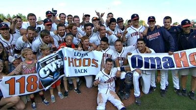 The 'Hoos are headed to the College World Series for the 4th time in program history