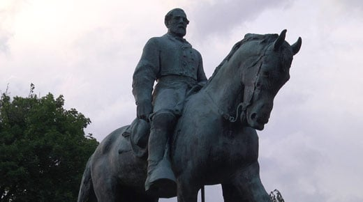 Statute of General Robert E. Lee in Charlottesville