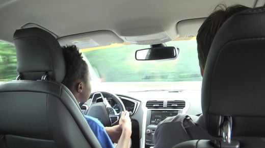 File Image: Teen driving in June 2015