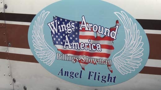Billings volunteers as an Angel Flight Pilot, providing emergency flights to people in need of serious medical attention.