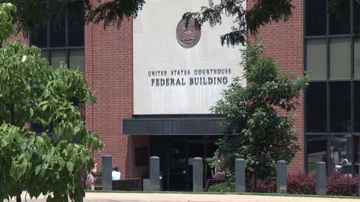 U.S. federal courthouse in Charlottesville