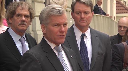 File Image: Bob McDonnell holding a press conferece
