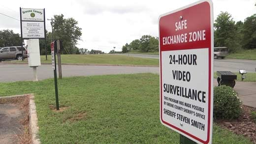 Greene Co. Sheriff's Office Sets Up Safe Exchange Zones ...