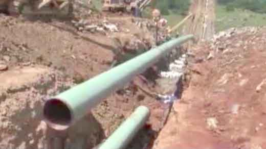 File Image: Mountain Valley Pipeline