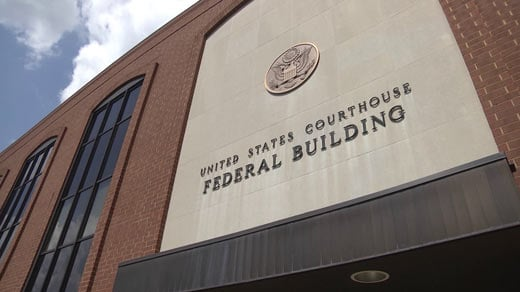 File Image: Federal Building and U.S. Courthouse in Charlottesville