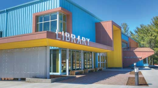 Northside Library (Photo courtesy of JMRL / Steve Trumbull)