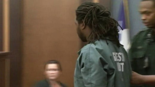 File Image: Jesse Matthew appearing before a judge in Galveston, Texas