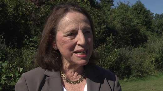 Helen Flamini, McIntire Botanical Garden president