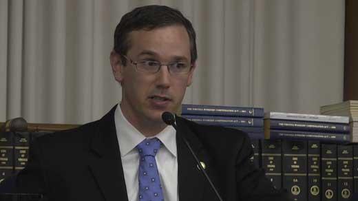 Board Chair James Alcorn