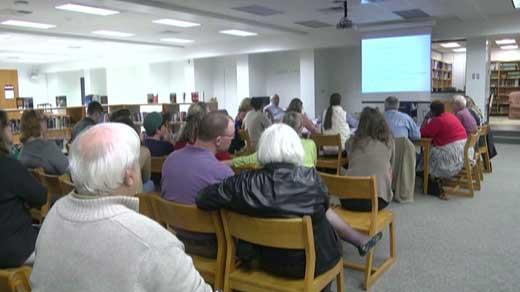 Redistricting Meeting in Albemarle County
