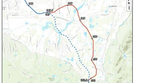 Dominion is considering this new path for it's proposed Atlantic Coast Pipeline. The new route would avoid the Lyndhurst Well in Augusta County.