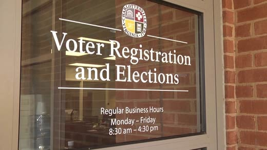 Charlottesville Office of Voter Registration and Elections (FILE IMAGE)