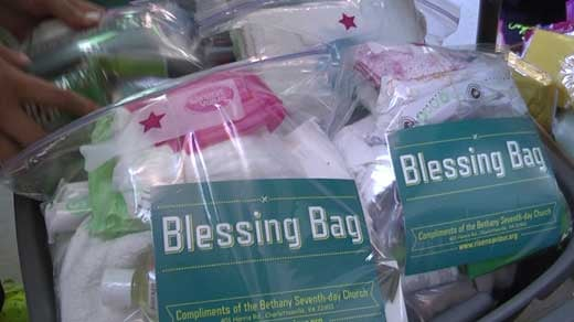 charlottesville church hands out blessing bags to city u2019s