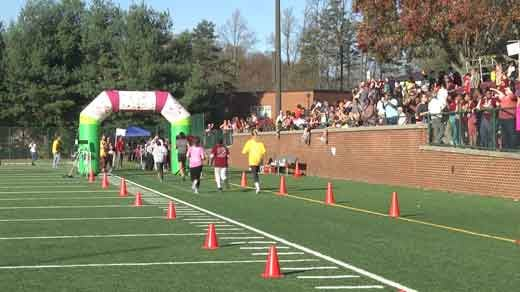 Girls on the Run 5K hosted by STAB