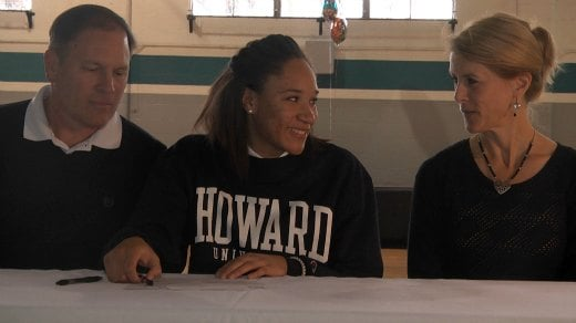 Imani Bryant is headed to Howard to play Basketball