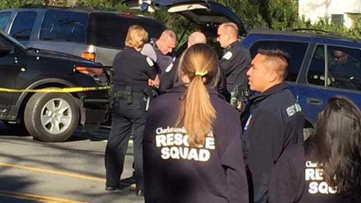 Police presence at 2500 JPA