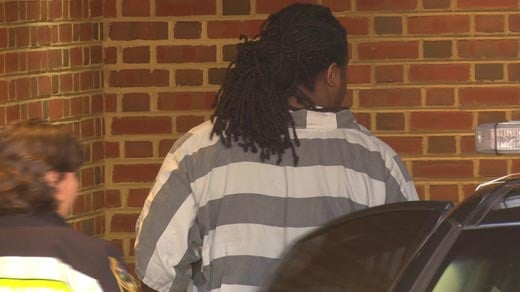 File Image: Jesse Matthew being escorted into Albemarle Circuit Court
