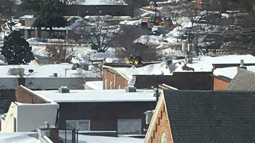 Roof Collapses On Market St Building Wvir Nbc29