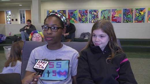 """Girls Geek Day"" at St. Anne's Belfield in Charlottesville"