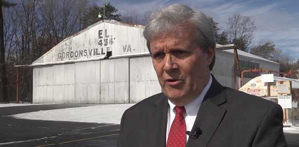 Gordonsville Mayor Bob Coiner