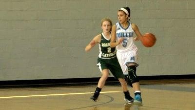 Miller School sophomore Kayla Mann
