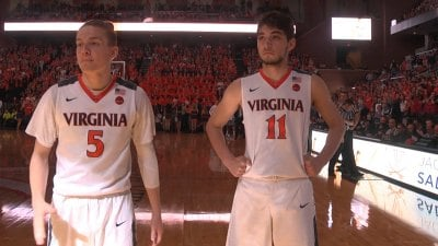 UVA's Kyle Guy and Ty Jerome