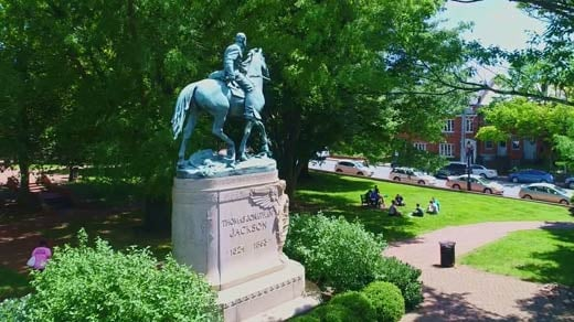 Justice Park in Charlottesville (FILE IMAGE)