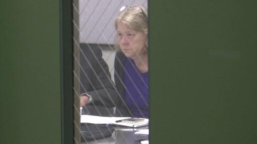 Councilor Kristin Szakos at a closed session meeting