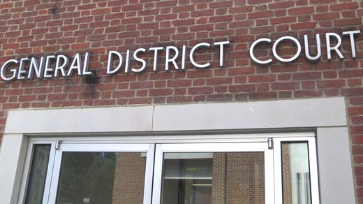 Charlottesville General District Court (FILE IMAGE)