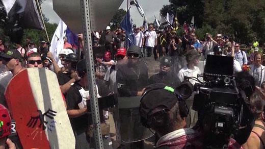 Unite the Right rally (FILE IMAGE)