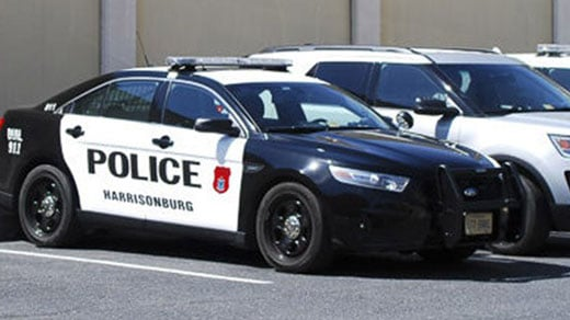 Vehicles with the Harrisonburg Police Department (FILE IMAGE)