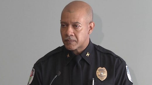 Charlottesville Police Chief Al Thomas at Heaphy's press conference