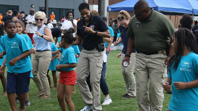 Cops 4 Kids Day (Photo courtesy the Charlottesville Police Foundation)
