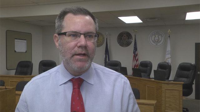 Greene County administrator, John Barkley