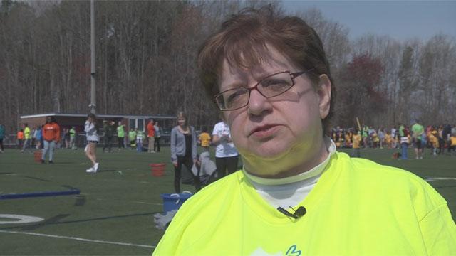 Rose Ann Gamma, Special Olympics coordinator