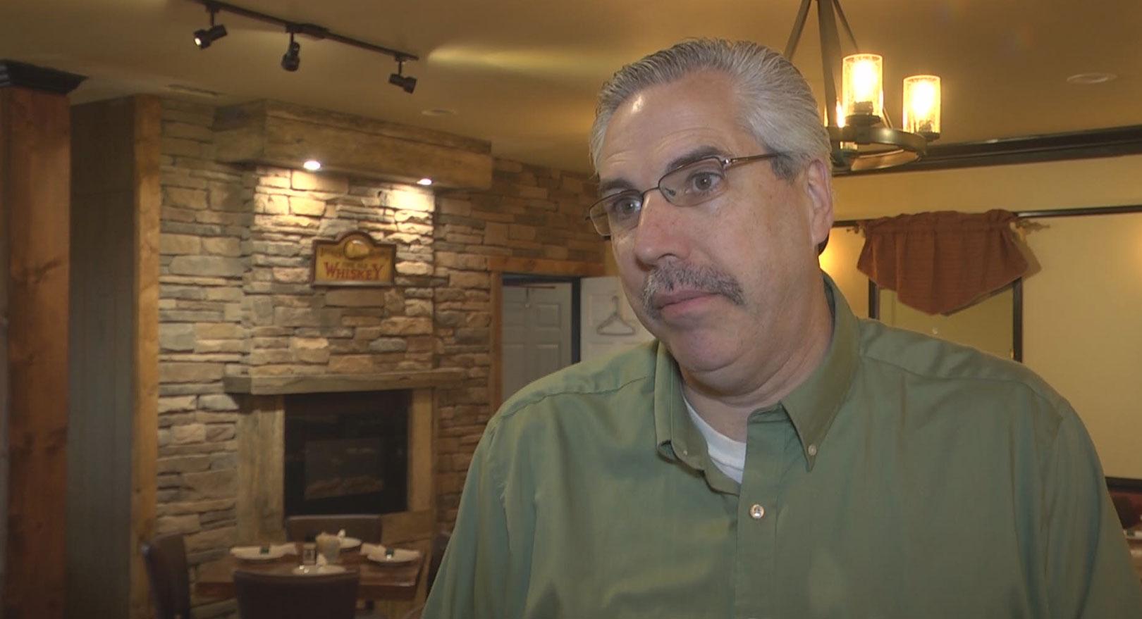 Shawn Haynes, owner of Blue Ridge Cafe