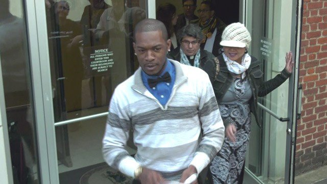 Corey Long leaving Charlottesville General District Court (FILE IMAGE)