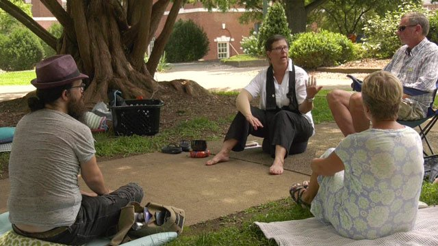 The Charlottesville Clergy Collective is helping people deal with the stress of Aug. 12.