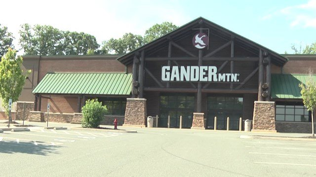 Gander Mountain storefront in Albemarle County