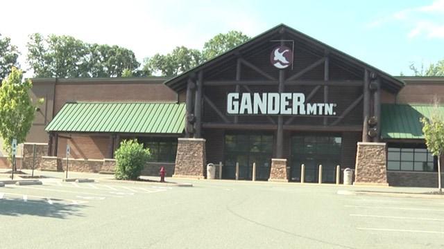 Gander Mountain storefront in Albemarle County (FILE IMAGE)