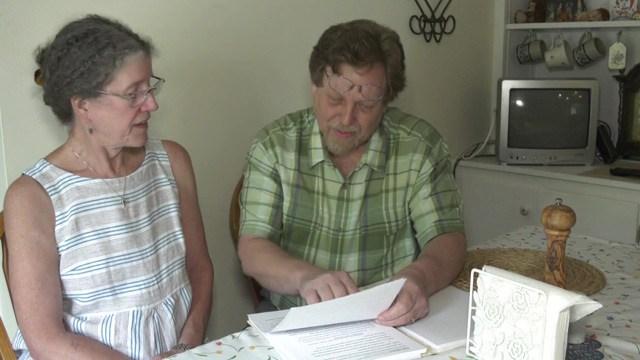 Bonnie Morgan (left) and Steve Vondra (right).