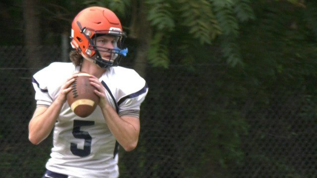 Walker Johnson takes over at QB for Kenyon Carter, who transferred to FUMA