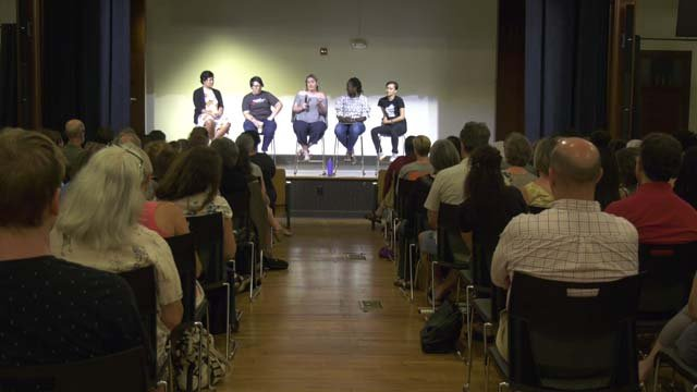Panelists discussed First Amendment rights on Aug. 7