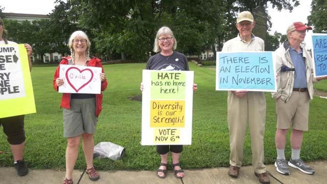 Indivisible Charlottesville hosted an event on August 7