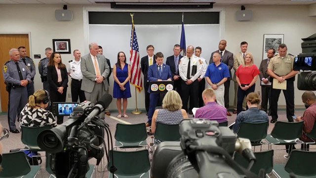 Members involved in the safety planning process met with media on Wednesday.