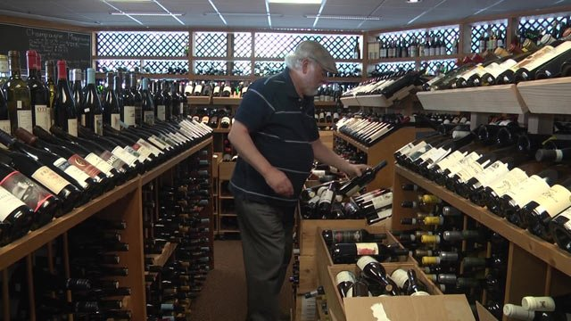 Tastings owner Bill Curtis isn't taking any chances this weekend.