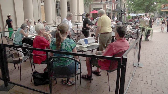 The community supporting Downtown Mall businesses