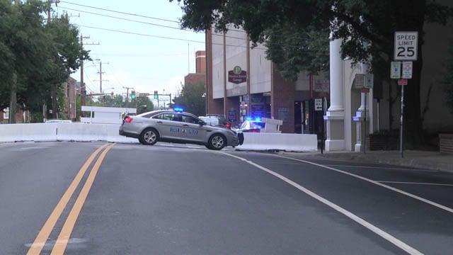 East Market Street closure