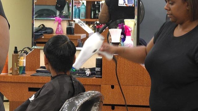 Hair Cuttery has helped thousands of kids get their hair cut for the coming school year